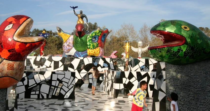 queen califia's magical circle with children playing
