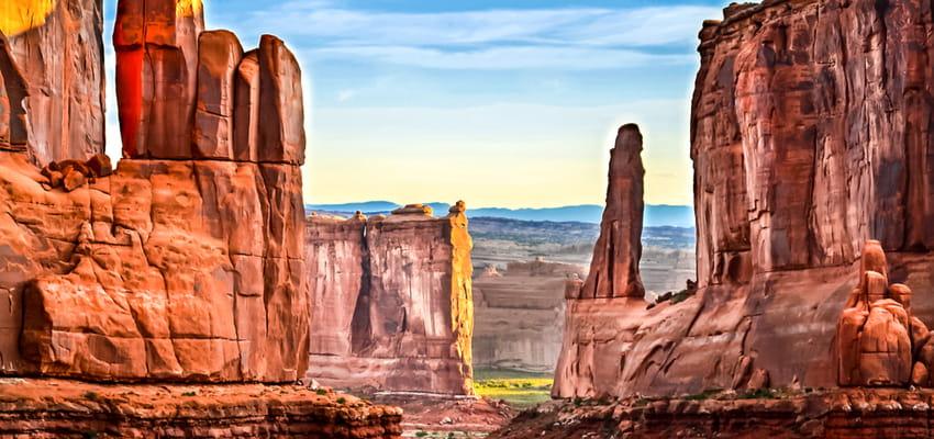 red rocks canyon outside of las vegas